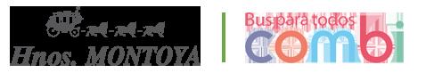 Combibus Hnos. Montoya | Alquiler de autobuses en Madrid Logo